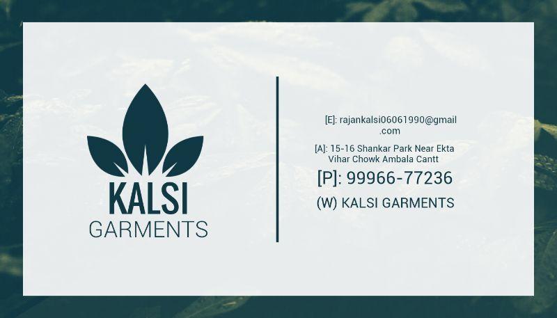 KALSI GARMENTS