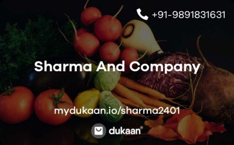 Sharma And Company
