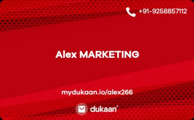 Alex MARKETING