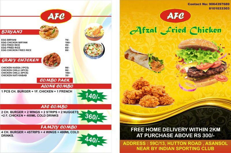 AFC (Afzal Fried Chicken)