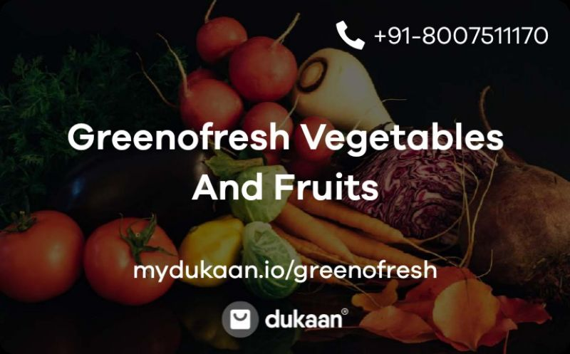 Greenofresh Vegetables And Fruits