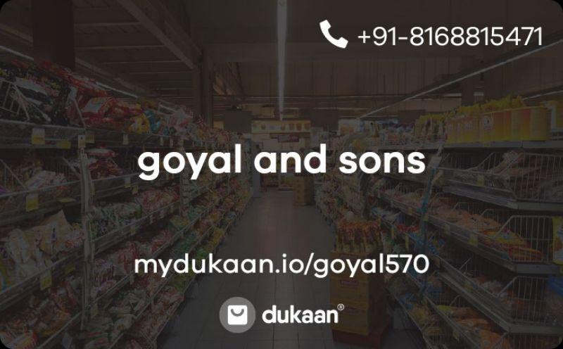 goyal and sons