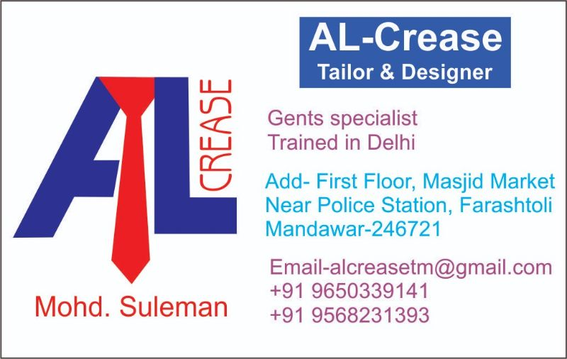AL Crease Tailor & Designer