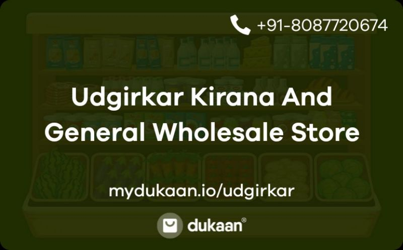 Udgirkar Kirana And General Wholesale Store