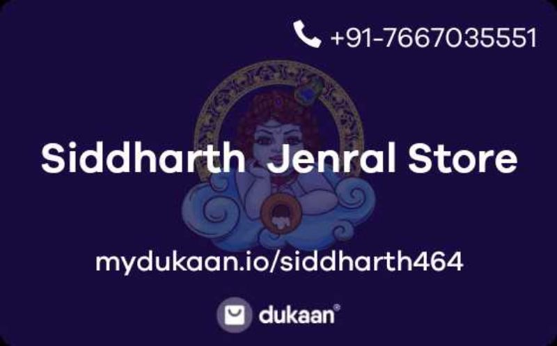 Siddharth  Jenral Store