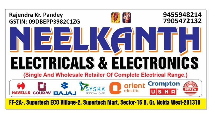 NEELKANTH ELECTRICALS & ELECTRONICS