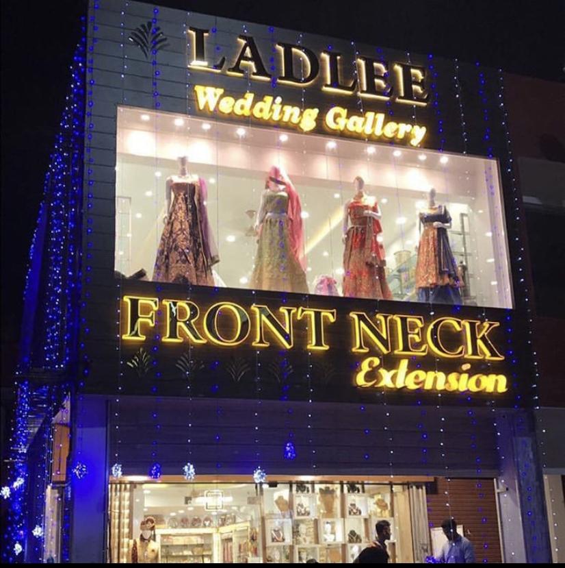 Front Neck  Wedding Gallery