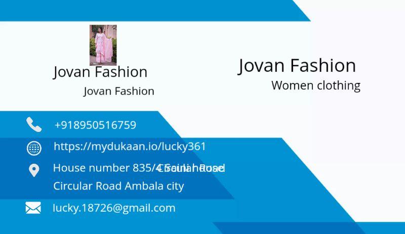 JOVAN FASHION
