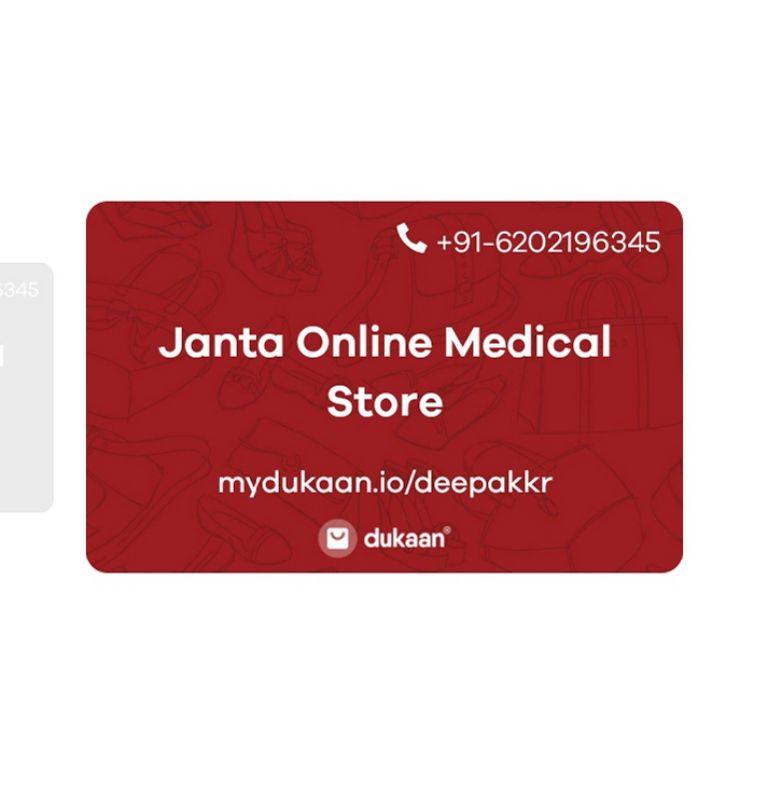 Janta Online Medical Store