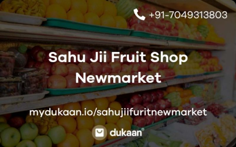 Sahu Jii Fruit Shop Newmarket