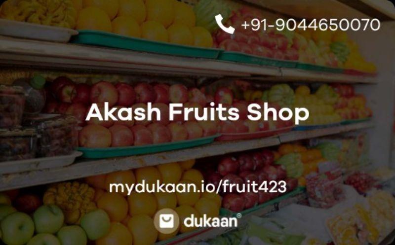 Akash Fruits Shop
