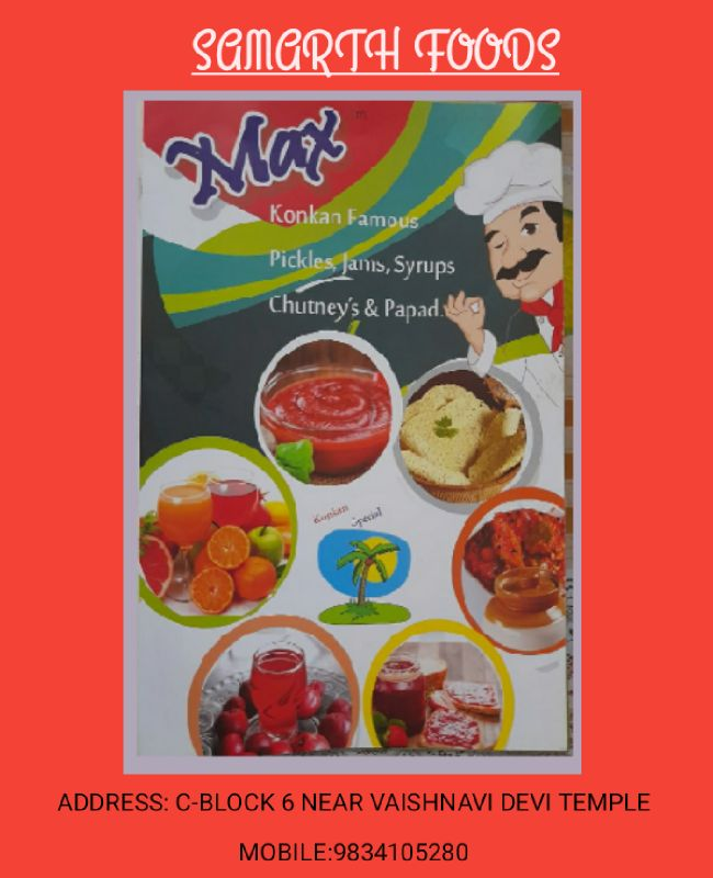 All Types Of Jam ,Pickles  ,Papad Etc
