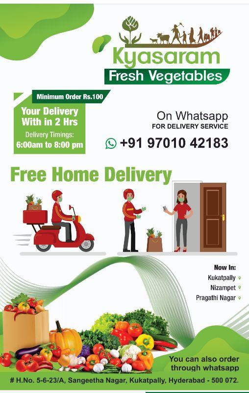 Kyasaram - Vegetables  - Store Mno 9701042183