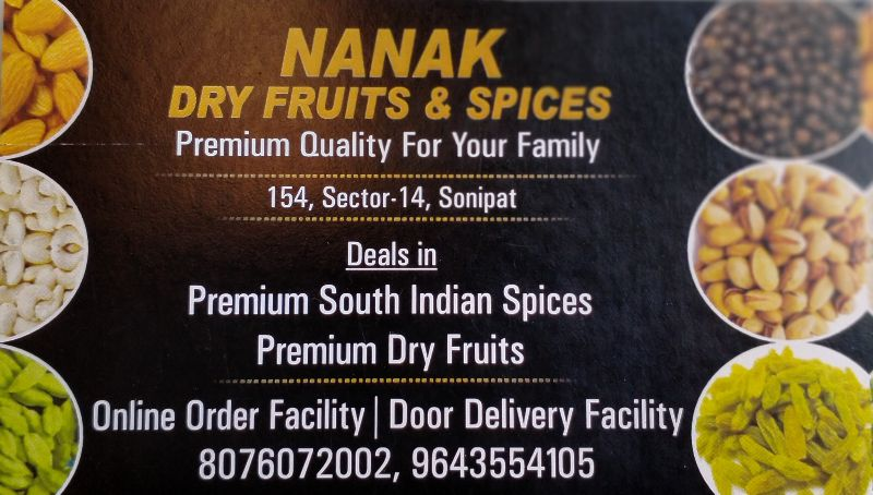 Nanak DryFruits & Spices
